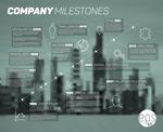 企业发展信息图