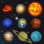 太阳系行星天体