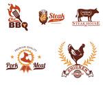 餐饮烧烤主题标志