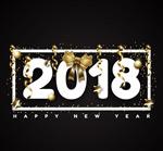 2018蝴蝶结艺术字