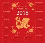 2018狗年历