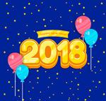 2018气球艺术字