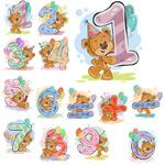 彩绘熊数字