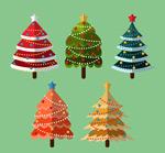 扁平化圣诞树