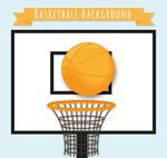 篮球架的篮球