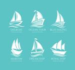 白色帆船标志