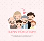 卡通幸福家族