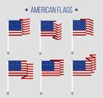 美国国旗矢量