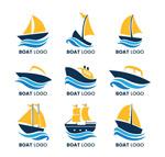 创意船标志