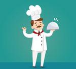 卡通男厨师设计