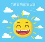 开怀大笑的太阳