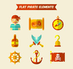 海盗元素图标