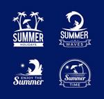 夏季度假标志