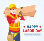劳动节建筑工人