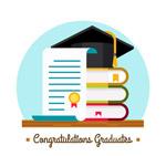 毕业证和博士帽