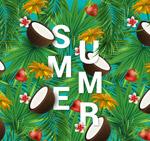装饰夏季艺术字