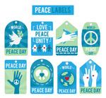 国际和平日吊牌