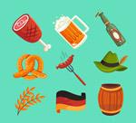 彩色啤酒节图标