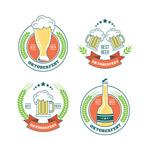 创意啤酒节标签