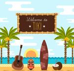 夏威夷沙滩风景