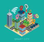 立体智慧城市建筑
