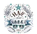 夏季艺术字