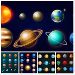 太阳系恒星矢量