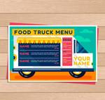 快餐车菜单