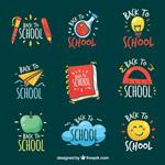 学校返校徽章