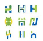 大写字母h标志