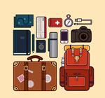 创意旅行物品