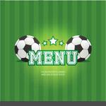 绿色足球菜单