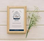 婚礼邀请相框