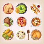 9款卡通食物