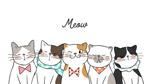 卡通表情猫咪