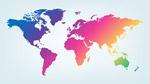 多彩的世界地图