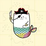 海盗猫美人鱼