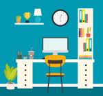 整洁书桌设计