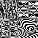 黑白抽象背景