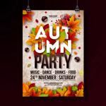 秋季派对海报