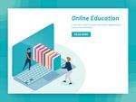 在线教育概念插图