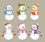 服饰雪人设计