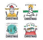 圣诞祝福标签