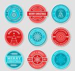 圣诞假期标签