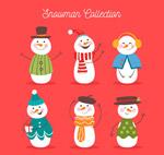 彩绘雪人设计