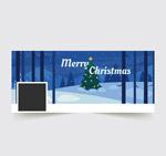 圣诞树脸书封面