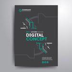 科技宣传册封面