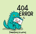 恐龙404页面
