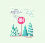 创意404页面