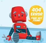 机器人404错误页